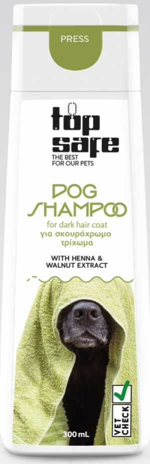 Dark hair shampoo